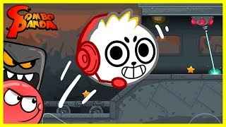 Download Red Ball 4 BLOCK BOSS Let's Play with Combo Panda Video