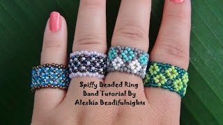 Download Spiffy Beaded Ring Band Tutorial Video