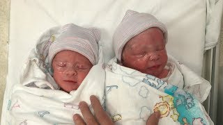 Download EMOTIONAL BIRTH OF OUR TWINS Video