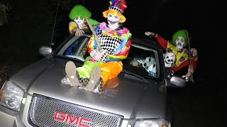Download GANG OF KILLER CLOWNS ATTACKS US! Video