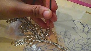 Download hand embroidery designs for dresses moti jari nag installation tutorial Video