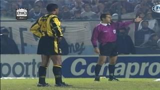 Download PARTIDAZO!! RACING 1 (3) PEÑAROL 1 (1) - GOLAZO DE CAPRIA!! LIBERTADORES 1997 Video