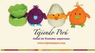 Download Pollitos tejidos en crochet (amigurumi) Parte 1 Video