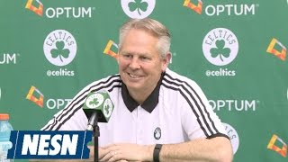 Download Danny Ainge Full Reaction To NBA Draft Lottery Results Video