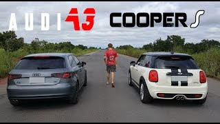 Download AUDI A3 VS MINI COOPER S Video