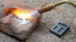 Download Como Fundir ORO en Casa con Un Ladrillo y Gas Butano Video