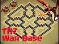 Download Clash of Clans | TH7 War Base (CoC) Defense With Air Sweeper Amazing Base Video