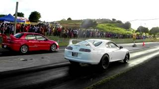 Download ″Do the Maths″ Crazy Toyota Supra vs Yousef Mitsubishi Evolution 9 Video