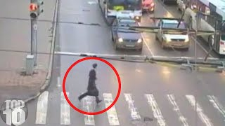 Download 10 Near DEATH Experiences Caught On Camera Video
