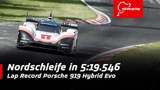 Download 369 km/h on the Nordschleife | Lap Record Porsche 919 Hybrid Evo Video