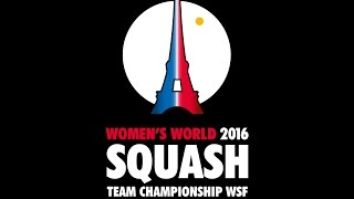 Download World Women's Team Squash - Day 5 Glass Court - French Commentary Video