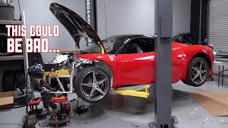Download Ferrari 458 Wiring DISASTER! This will Make or Break it.... Video