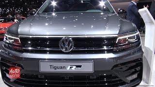 Download 2020 Volkswagen Tiguan R-Line 2.0TSI 230hp - Exterior And Interior - 2019 Geneva Motor Show Video