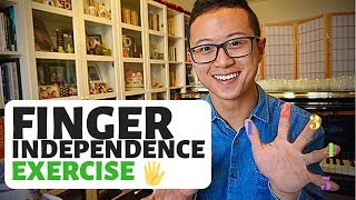 Download Simple Exercise for Finger independence on Piano Video