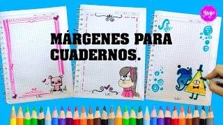 Download IDEAS PARA MÁRGENES DE CUADERNOS-CÓMO DIBUJAR MÁRGENES DE CUADERNOS-Gravity Falls-Yaye Video