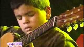 Download Con 11 años, tocó su guitarra como un grande El casting de la tele 2008 El Trece Video