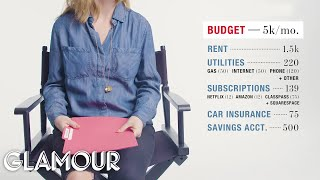 Download How One Woman Spends Her $95,000 Salary | Money Tours | Glamour Video