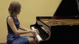 Download CHRISTIAN SINDING - RUSTLE OF SPRING Op. 33, No.2 - ANNA SUTYAGINA Video