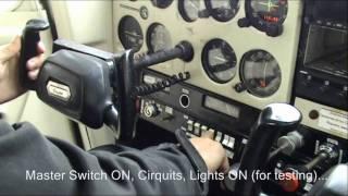 Download Cessna 152 cockpit flight training (start-up, pre-flight, takeoff, climb) Video