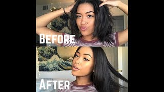 Download HOW TO GET PIN STRAIGHT HAIR! Video