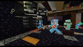 Download PRIMUL NOSTRU RAID! | Minecraft Video