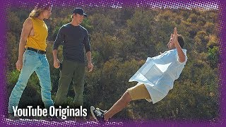 Download Hollywood Stunt Falls in Slow Motion Video