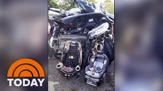 Download Mom's Viral Photo After Crash Shows Why Kids' Car Seats Are So Important | TODAY Video