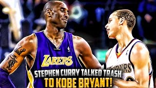 Download The Time Steph Curry Talked TRASH To Kobe Bryant & FAILED!! Video