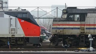 Download Amtrak action around the Chicago yard and Union Station on 3/10/15 Video