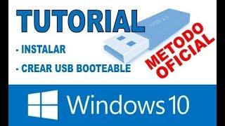 Download Instalar Windows10 desde 0 mediante USB, TOTALMENTE EXPLICADO Video