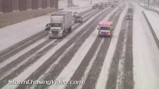 Download 1/8/2015 Minneapolis MN Winter Storm Video