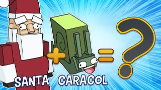 Download HYBRID ANIMALS: SANTA + CARACOL = ?   iTownGamePlay Video