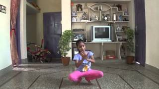Download Aashritha practicing kuchipudi brahmanjali Video