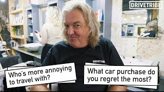 Download James May reveals his favourite car of 2018 in a barbershop Video