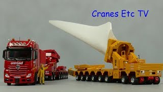 Download IMC Scheuerle Wind Transporters 'Wiesbauer' and 'Onroad' by Cranes Etc TV Video