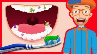 Download Tooth Brushing Song by Blippi | 2-Minutes Brush Your Teeth for Kids Video