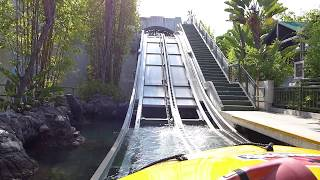Download Jurassic Park: The Ride at Universal Studios Hollywood - Full Front POV Video