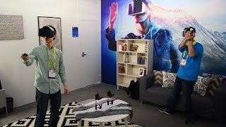 Download Intel Project Alloy VR Multiplayer Merged Reality Demo Video