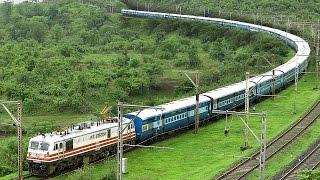 Download TRAIN making a U-Turn ? Indian Railways (Illusion) Video