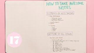 Download Note Taking Hacks & Tips | Plan With Me Video