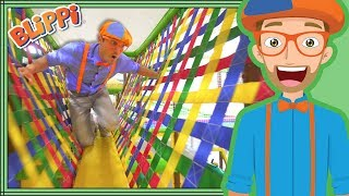Download Learning with Blippi at the Play Place | Ultimate Playground Compilation Video