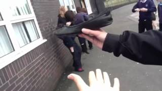 Download Piggy back competition guys vs girls Video