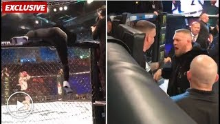 Download Conor McGregor Slaps MMA Official, Pushes Ref in Post-Fight Blowup Video