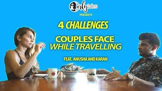 Download 4 Real Life Problems Couples Face While Travelling - ft. Anusha Dandekar & Karan Kundra |Curly Tales Video