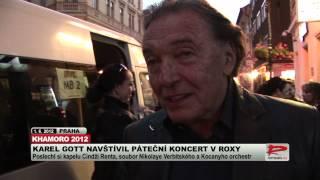 Download Karel Gott na pátečním koncertu festivalu Khamoro exkluzivně pro ROMEA TV Video