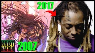 Download Evolution of Lil Wayne's BALD Dreadlocks (2002 - 2017) Video