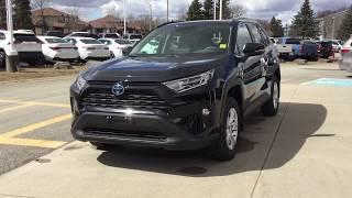 Download NEW 2019 Toyota Rav4 Hybrid AWD XLE Review 1000 Islands Toyota Brockville Video