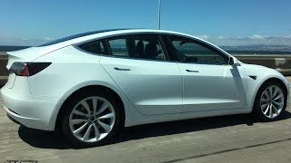 Download Tesla Model 3 Spotted Testing Prototype Video