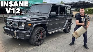 Download STRAIGHT PIPING MY FRIENDS G65 AMG! *WAY TOO LOUD* Video