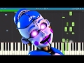 Download Ballora Song - Dance To Forget - FNAF SL - TryHardNinja - Piano Cover / Tutorial Video